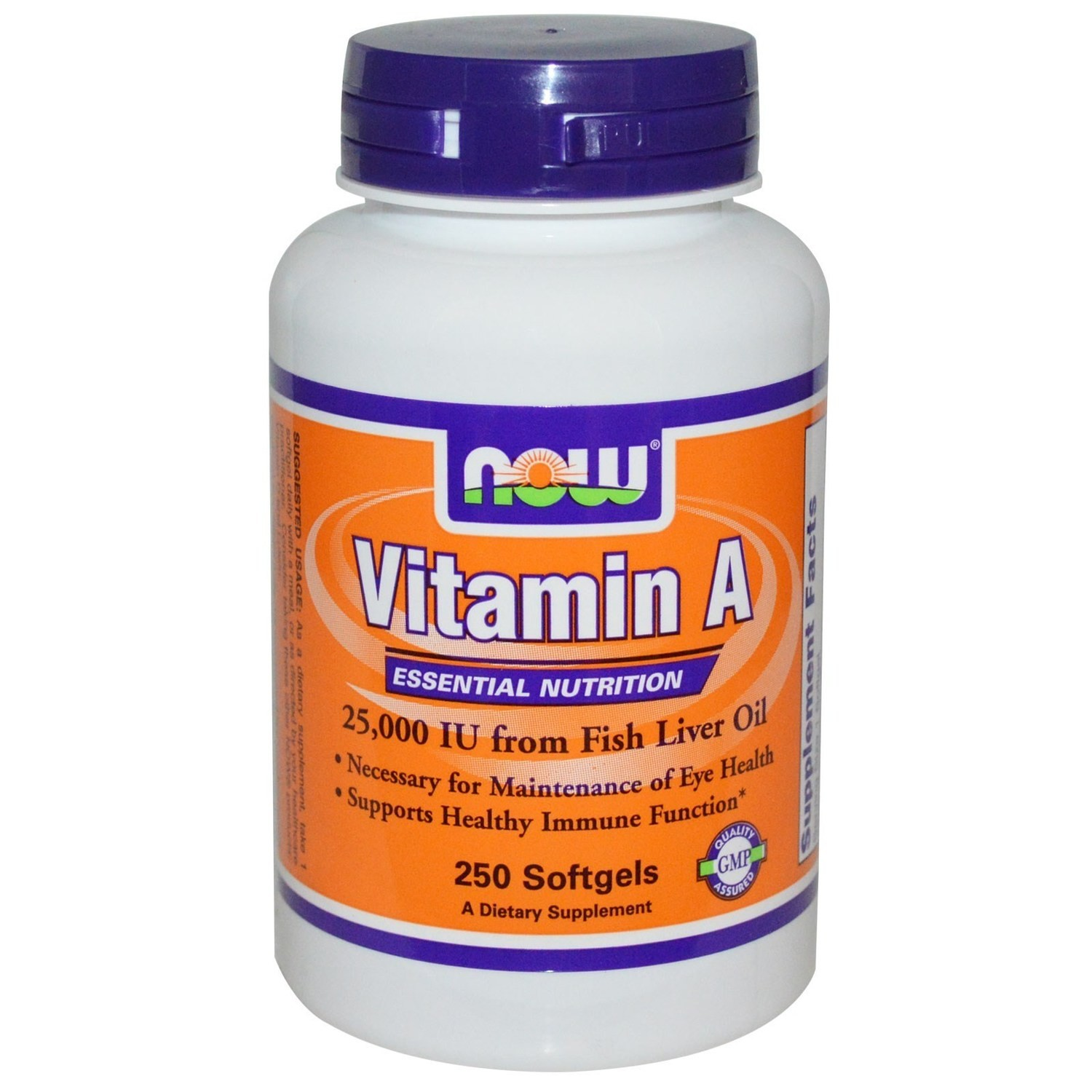 Now Vitamin A 10.000IU -100 kapsula