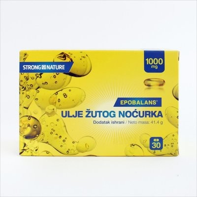 Strong Nature - Ulje žutog noćurka 1000 mg