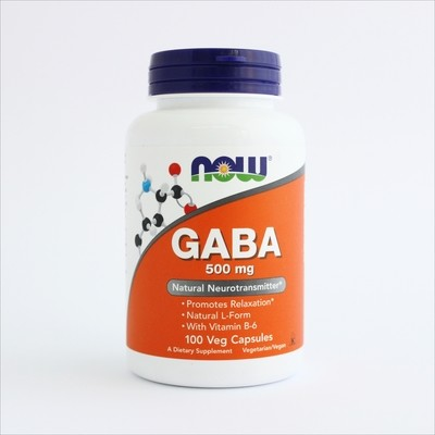 Now Gaba 500 mg 100 kapsula