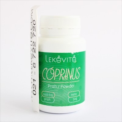 Coprinus prah 50 g