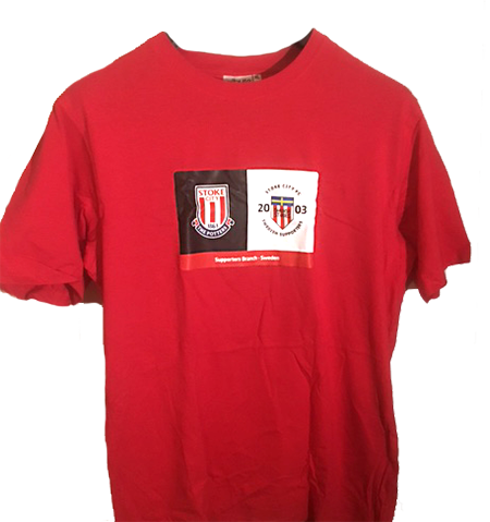 T-shirt Röd - XL