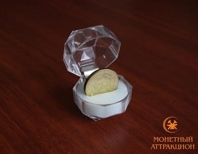 Подарочный футляр для монеты