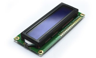 16x2 Character LCD Display Module White on Blue