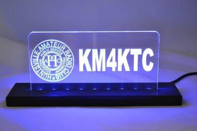 HARC LED Desktop Sign