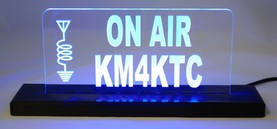 ON AIR LED Desktop Sign