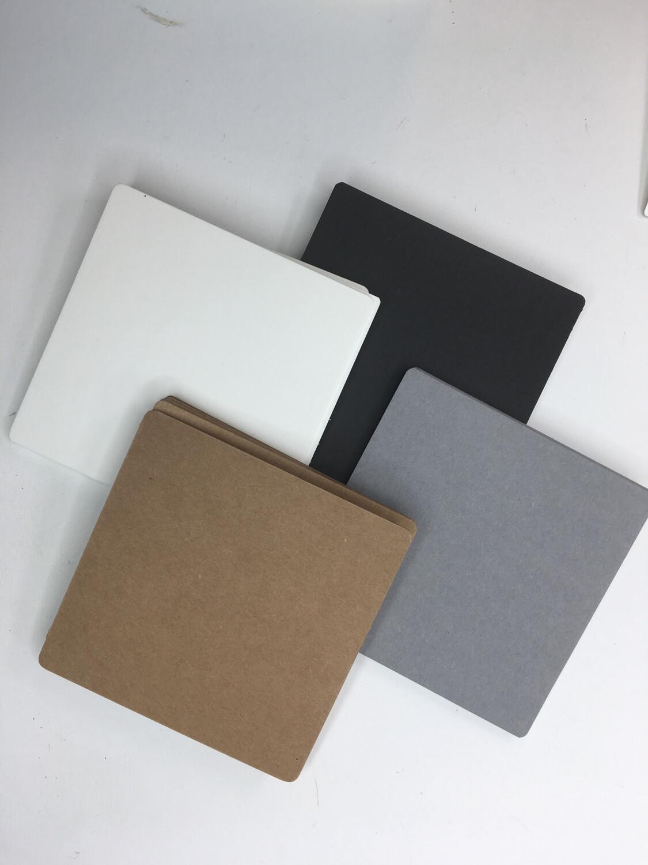 "Multi Color Tile pack Square 3 1/2"" -15 Brown, 15 Gray, 15 White, 15 Black"