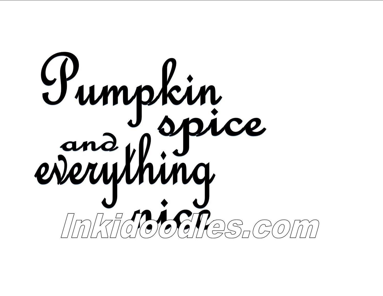 Pumpkin Spice Template