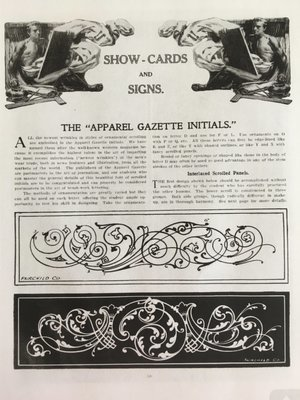 Fairchild's rapped letterers and show-card maker E-Book
