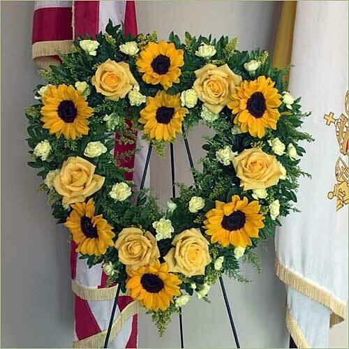 Sun Flowers Tribute