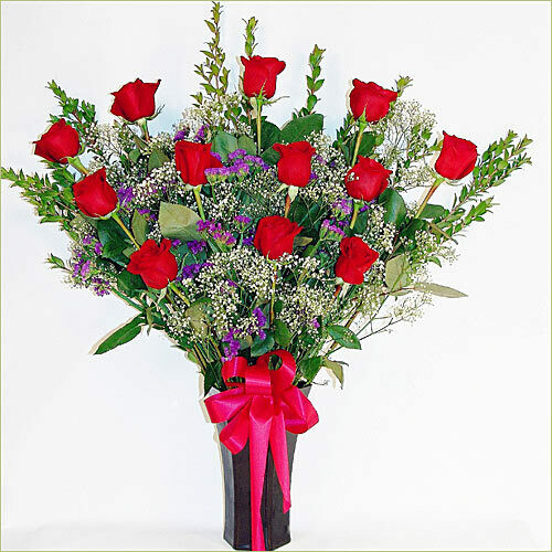 Red Love Roses (Colombian Roses)
