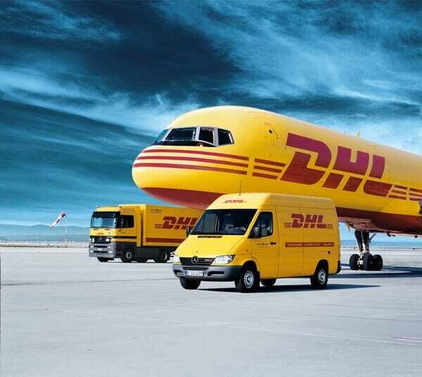 DHL Express - Shipping + FREE sandal