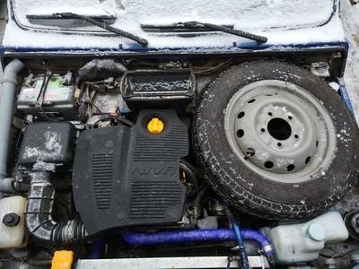 Крышка (экран) двигателя. Защита и в бездорожье, и классная