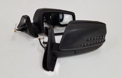 Электрические зеркала (электрообогрев, электропривод, ДХО, п/поворотов в стиле