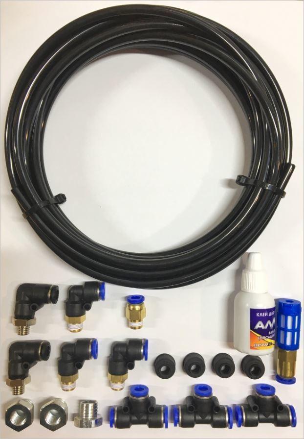 Комплект для вывода сапунов (Мосты+РК+КПП) наверх.  Сохрани свои агрегаты от воды, пыли и грязи!