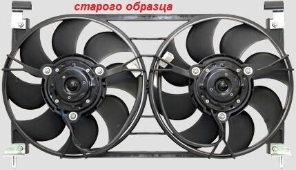 """Малошумные, Увеличенной мощности вентиляторы  (""""карлсоны"""") для """"Лада Нива 4x4"""""""