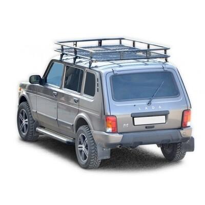 Багажник экспедиционный «Трофи»  с сеткой. 2131
