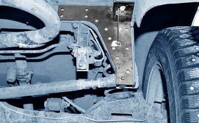 Усилитель кронштейна крепления поперечной штанги (панары) к кузову