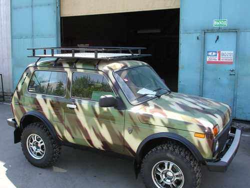Экспедиционный багажник «Бронто» (Нива 2131)