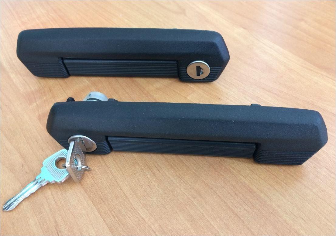 Ручки дверей NIVA (черные). Классные!! Всем нравятся! (3дв/5дв)