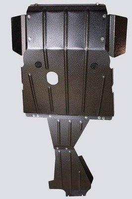 Защита картера двигателя, коробки передач и раздаточной коробки усиленная «Броня», 2123
