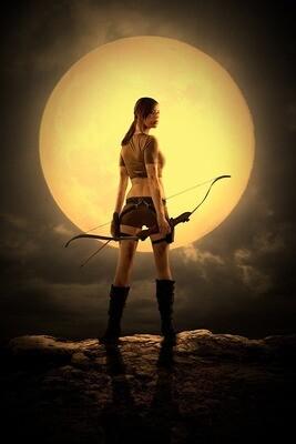 Hunter's Moon (Blood Moon) Spell Casting $249