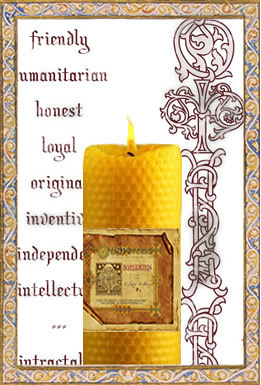Pisces - Spellbinding Zodiac Candle, $89