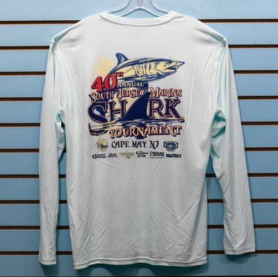 Shark Mens Performance Long Sleeve Tee