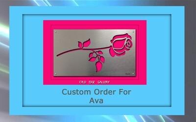 Custom order for Ava P.