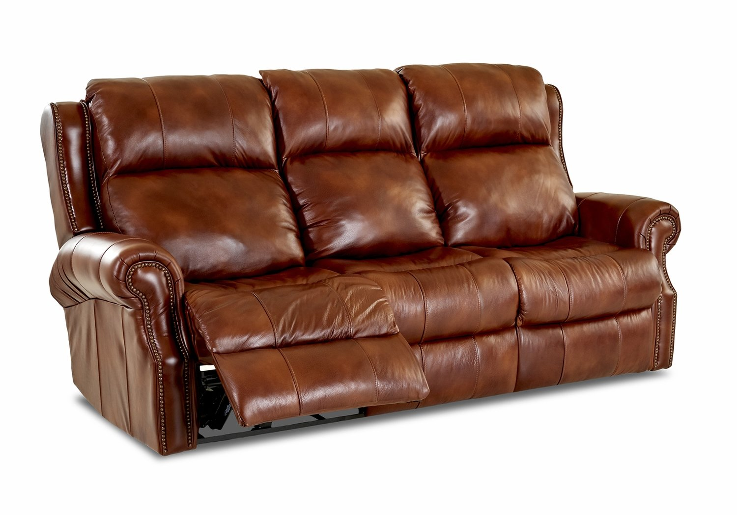 Blue Ridge 5.3 Power Reclining Sofa With Power Headrest