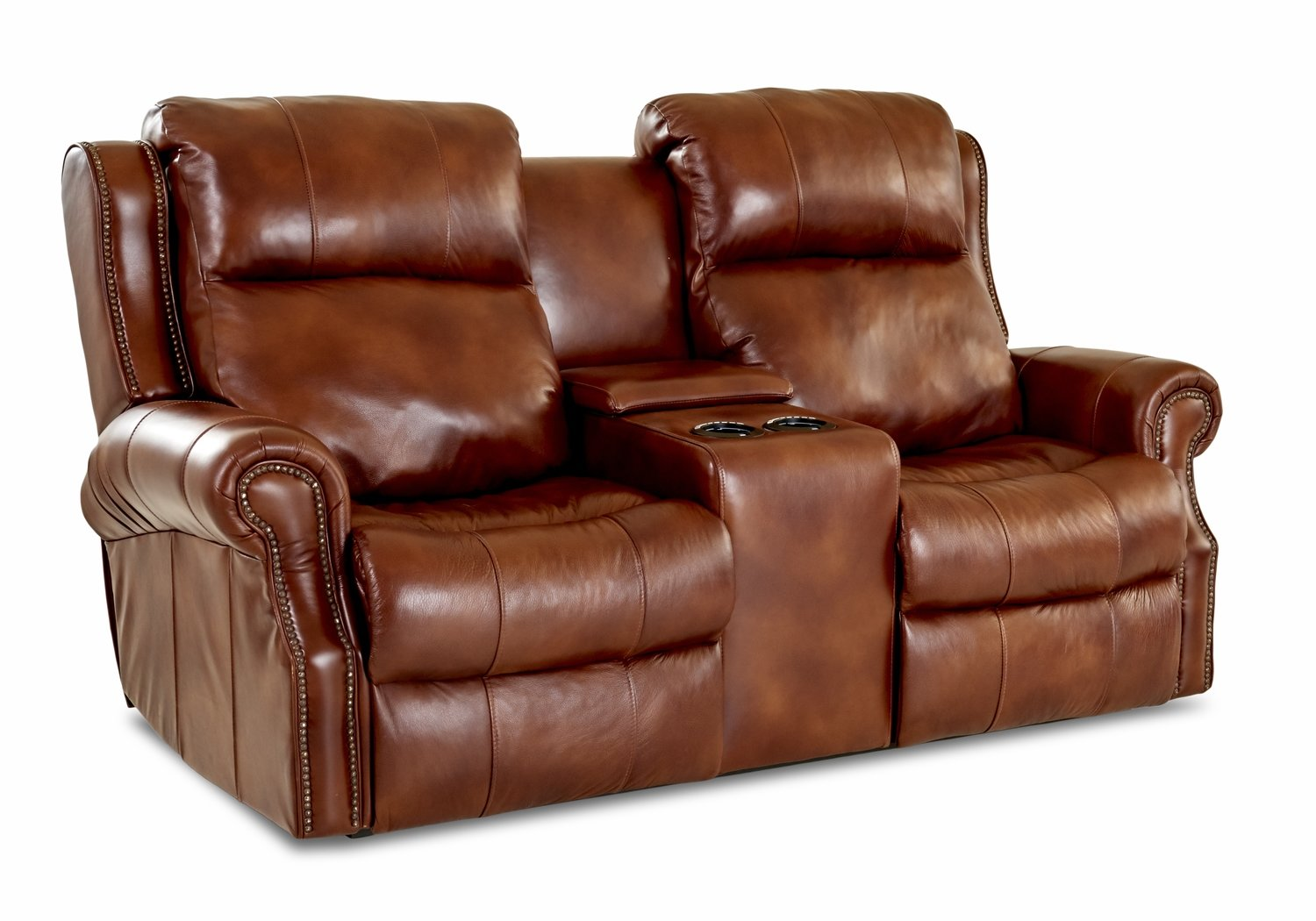 Blue Ridge 4.2 Console Power Reclining Loveseat
