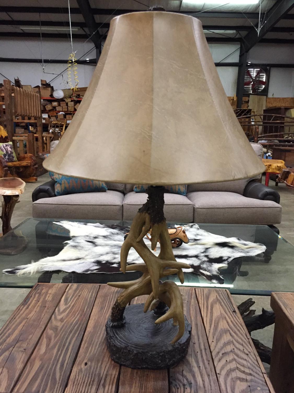 """29.5""""H Antler Table Lamp"""