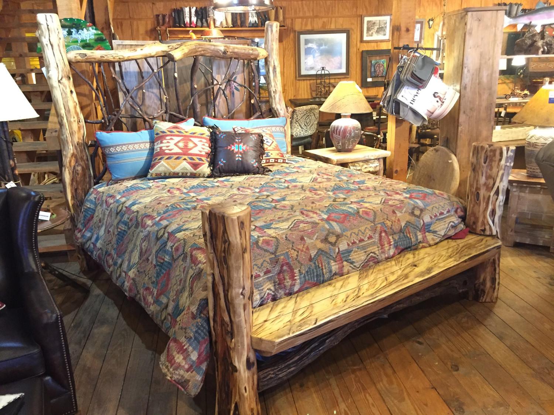 King Locust and Laurel Bed