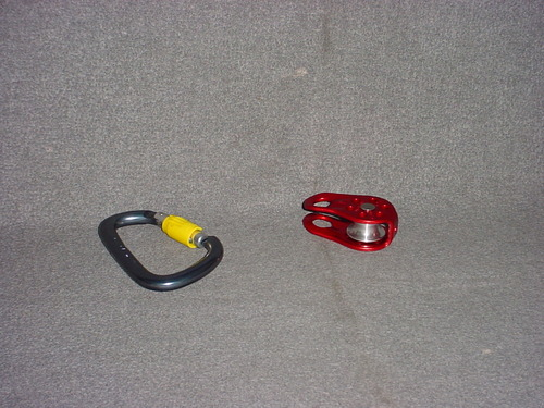 Simpson Capstan Rope Winch Caribiner Pulley Kit