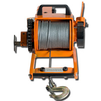 """Replacment Cable 150' x 3/16"""" with Hook"""
