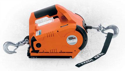 Warn PullzAll Winch 110V AC Corded1000 lbs Cap.W/Rigging Kit/Bag
