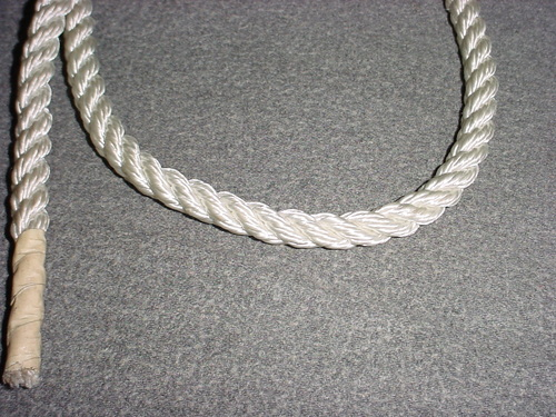 "Simpson Winch 3/8""x600' Braided Low Stretch Rope 5600 lb"