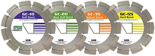 """MK GC55 166764 Early Entry Concrete Blade 13-3/8"""""""