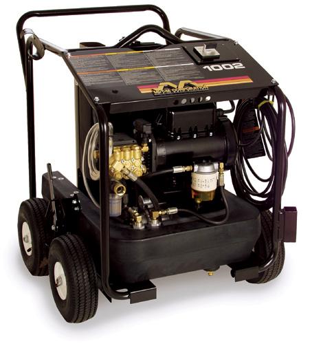 MiTM HSE-1002-SM10 2 GPM Combo wet steam cleaner/Pressure Washer