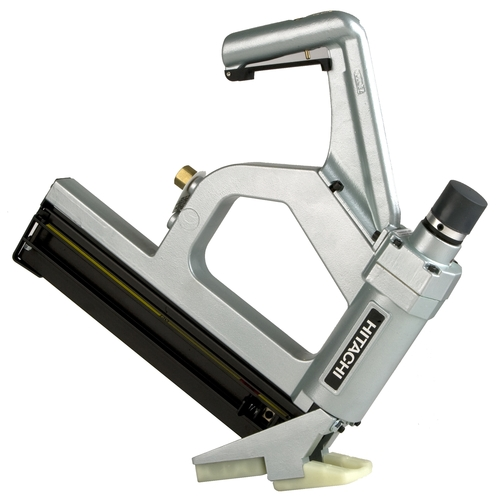"""Hitachi NT50AGF 2"""" T Floor Cleat Nailer Oil-Less Pneumatic"""