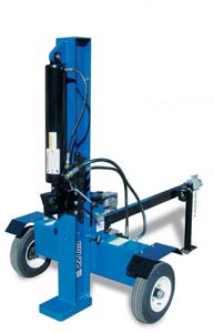 Iron & Oak BHVH2209FC 20Ton Vertical Horiz 9HP Robin Elec Start