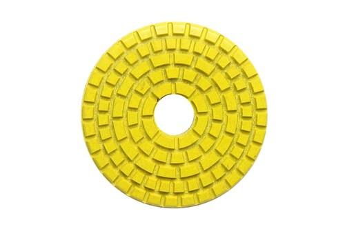 "DIAFLEX 3"" Wet Polishing Pad 400 Grit Yellow"
