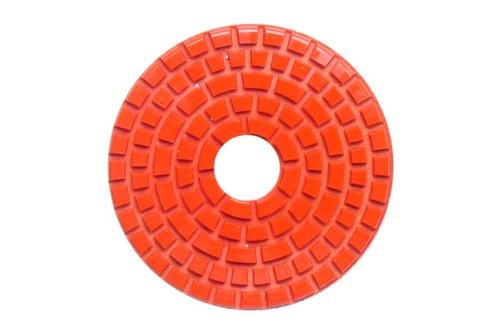 "DIAFLEX 3"" Wet Polishing Pad 600 Grit Orange"