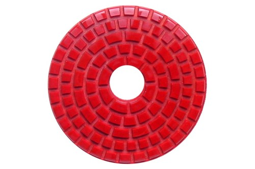 Debel Wet Polishing Pad 220 Grit Red