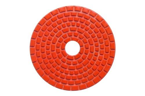 "DIAFLEX 4"" Wet Polishing Pad 600 Grit Orange"