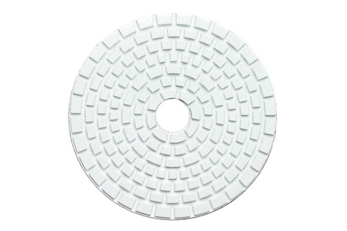 "DIAFLEX 4"" Wet Polishing Pad 800 Grit White"