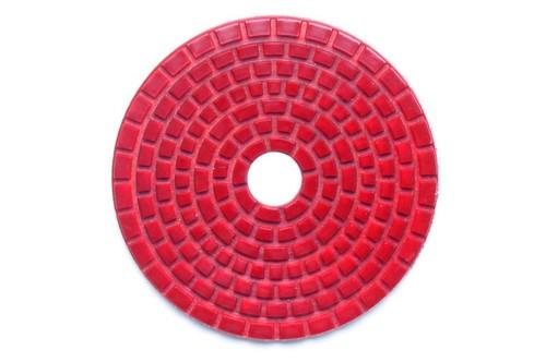 "E Series 5"" Wet Polishing Disc 3000 Grit Pink"