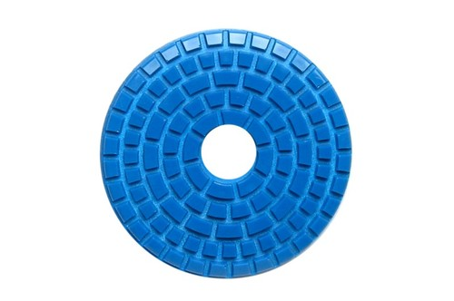 "E Series 5"" Wet Polishing Disc 400 Grit Blue"
