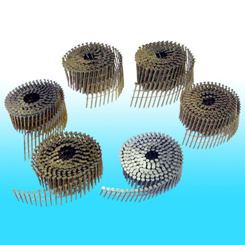 "Hitachi 1-1/2""-.120 Roofing Nails 12102 Coil Galvanized"