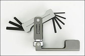 Metric Ratcheting Hex Wrench