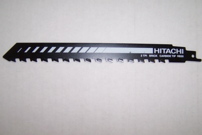 "Hitachi Masonry Sawsall Blade 9"" Carbide Teeth"